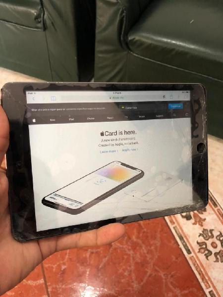 iPad Mini 1 de 16gb Vidrio Quebrado
