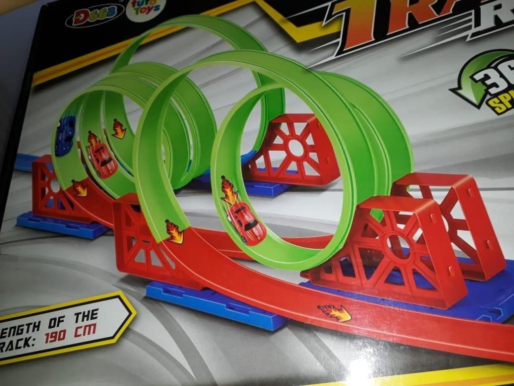 pista 360 doble y triple