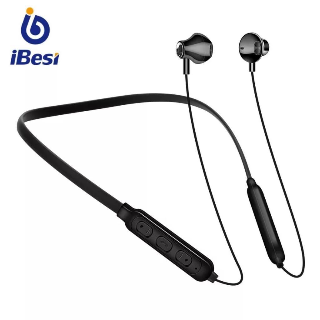 Auriculares Bluetooth Cuello Negro