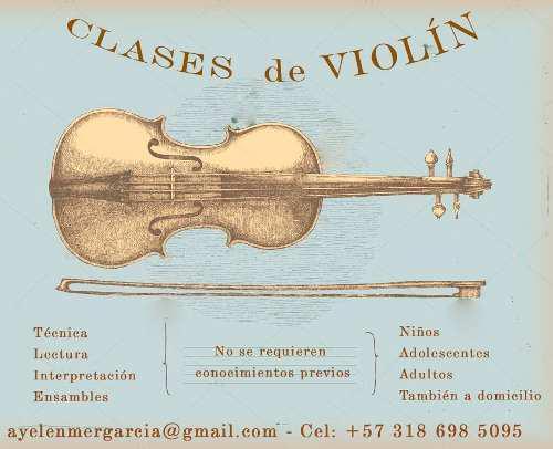 Clases De Violín En/a Domicilio!