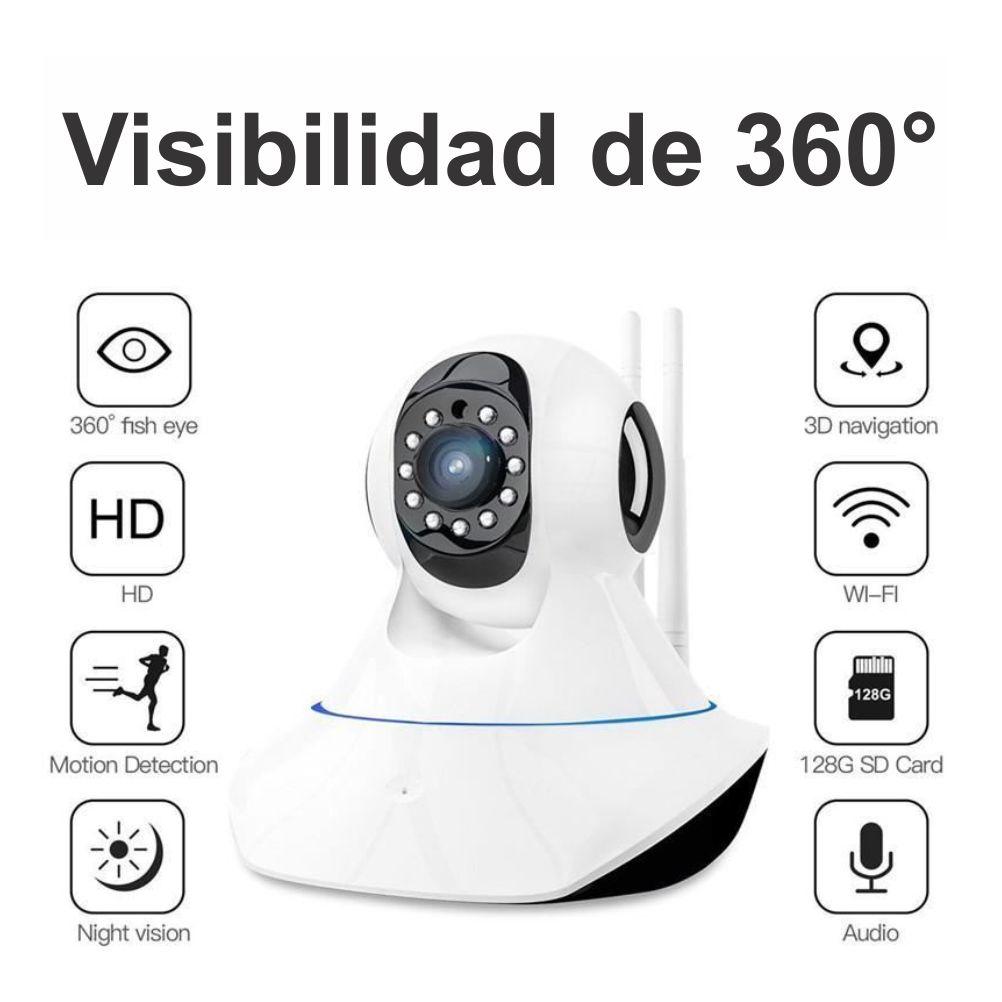 Cámara De Seguridad Ip Wifi Robot p Hd 360 Inalambrica