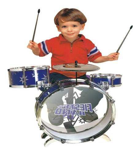 Juguete Batería Musical Infantil Para Niños Platillo