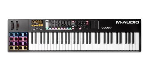 M Audio Code 61 Bk, Controlador Vip X/y Pad