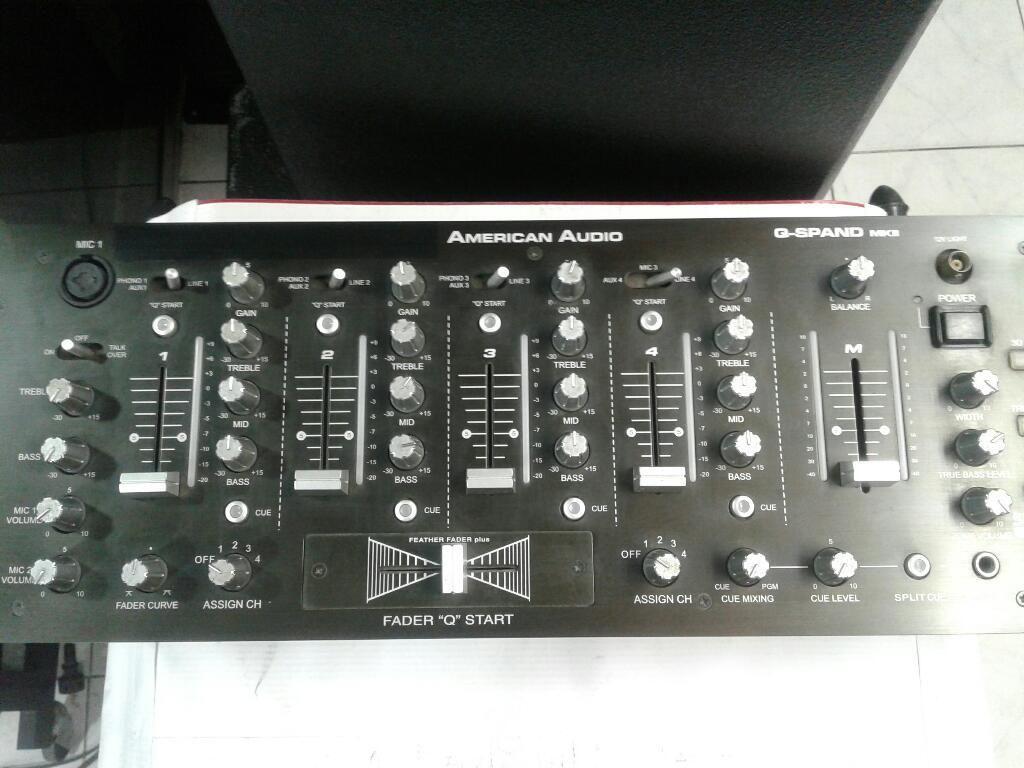 Mezclador American Audio Wow