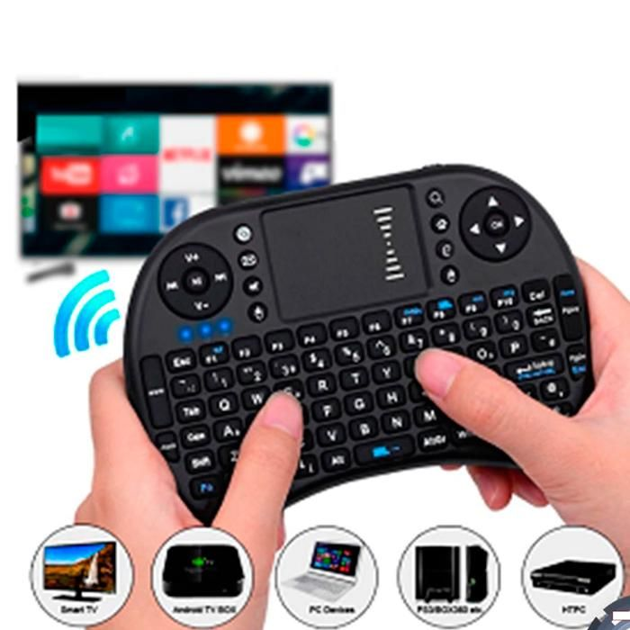 Mini Teclado Inalámbrico Para Smarttv Tablet, Tv Box