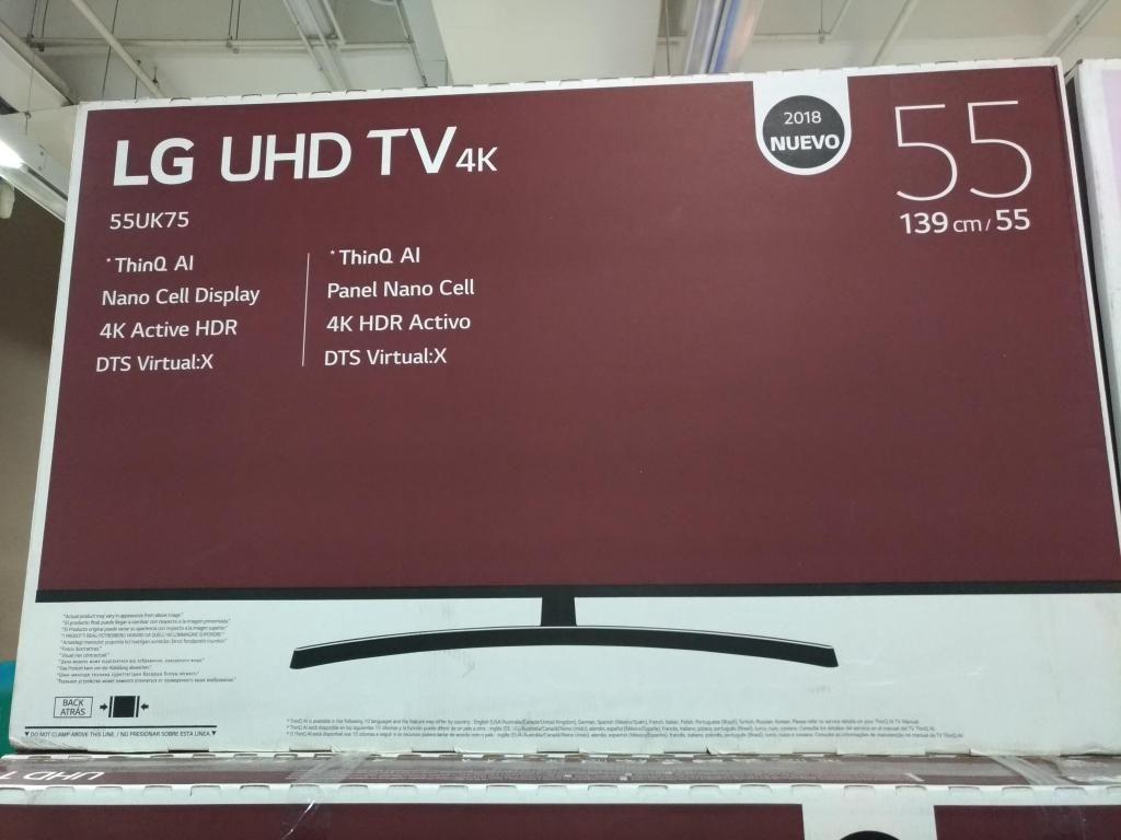 OFERTA...TELEVISOR SMART TV LG 4K UHD, 55UKPDA NANO