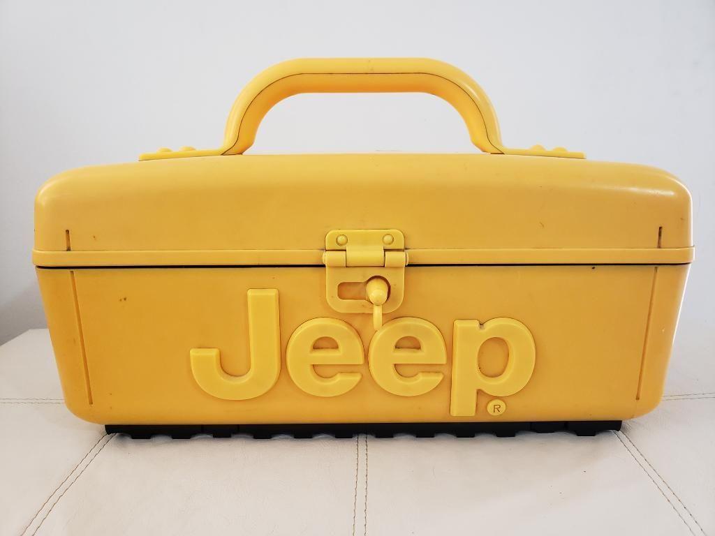 Parlante Jeep en Forma Caja Herramientas