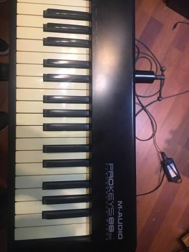 Teclado Piano M Audio Prokeys 88sx, Una Tecla Perdió