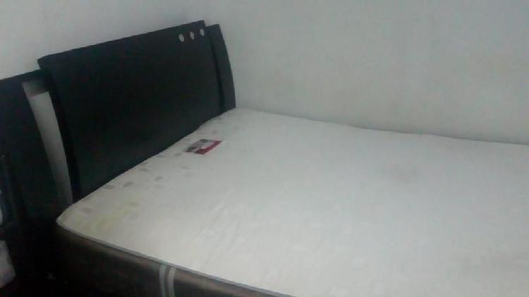 cama doble con colchon