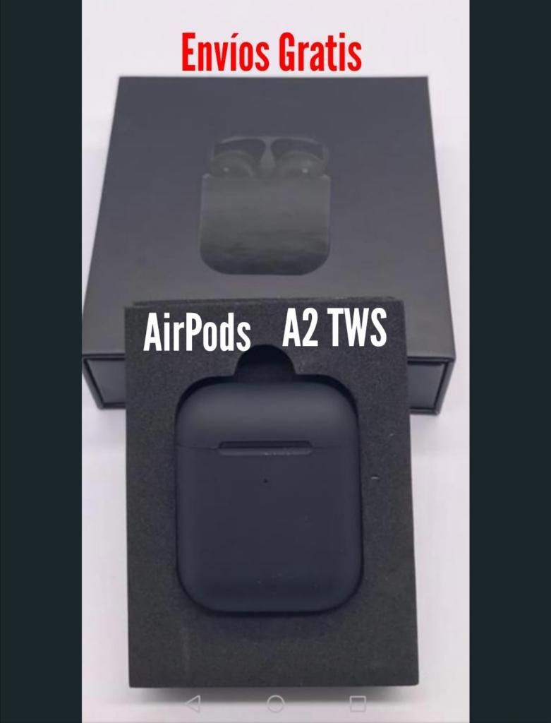 Audifonos Airpods A2 Tws, Carga Inalámbr