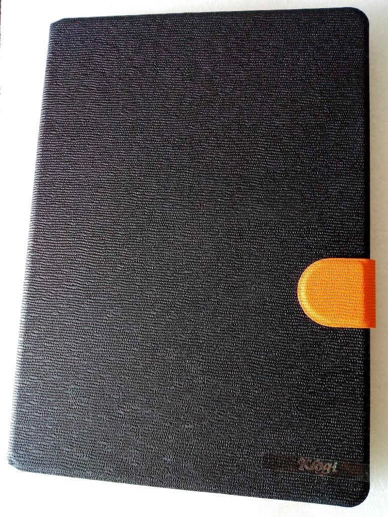 Book Cover Leather Case iPad Air 1 Negro