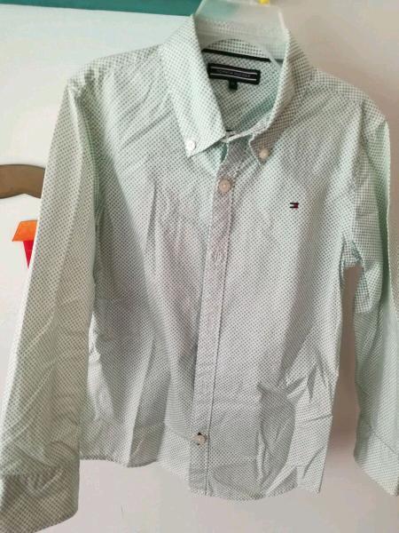 Camisa Manga Larga Niño Tommy Hilfiger Talla 5