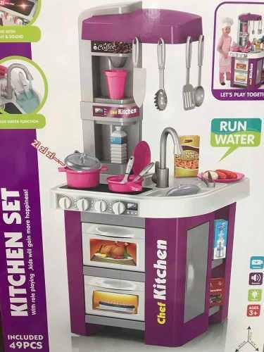 Cocina Infantil Juguete Con Luces Y Agua