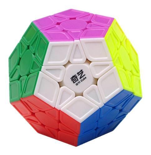 Cubo Rubik Qiyi Qiheng S Megaminx Magic Cube Stickerless