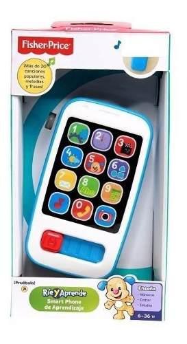 Fisher Price Telefono Smartphone Celular De Aprendizaje Bebe