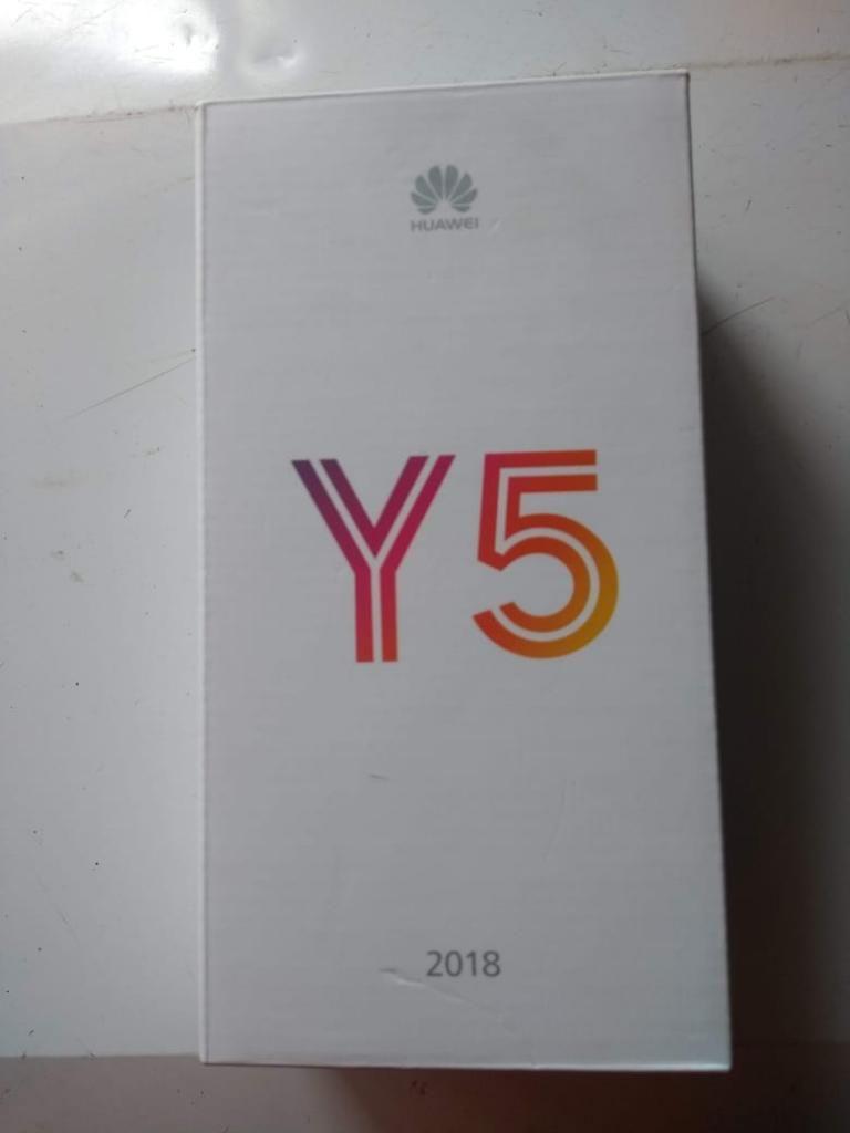 Huawei Y5 Único Dueño, con Todo Original