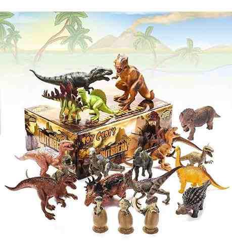 Juego Juguetes Dinosaurios Niños 20 Paquetes Niños Juguete