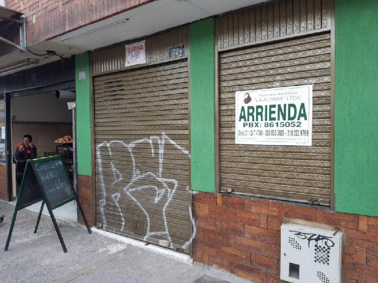 LOCAL PARA ARRIENDO EN CHIA MUY BIEN UBICADO A1204