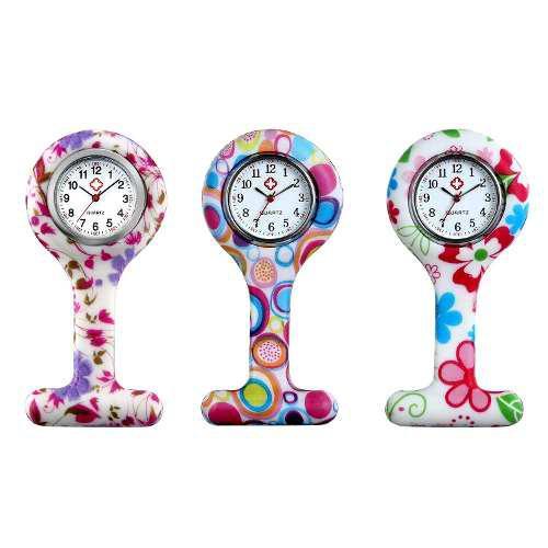 Mujeres Enfermera Reloj De Solapa Pin-on Broche Colgant...