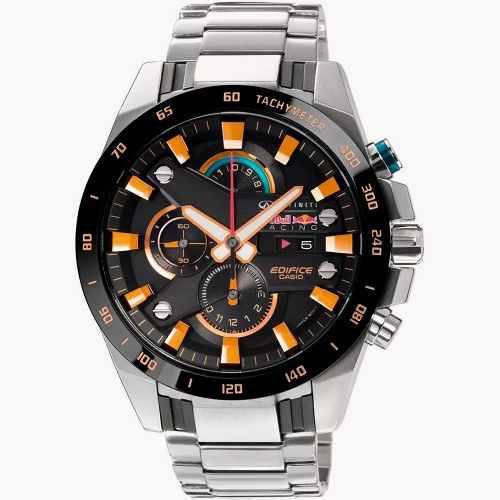 Reloj Casio Edifice Efr-540rb-1aer Redbull Fórmula 1 Acero
