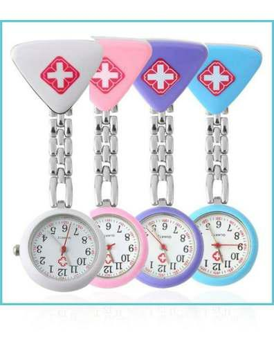 Reloj Para Enfermera En Forma De Corazón O Diamante