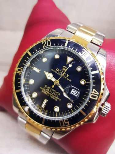 Reloj Rolex En Acero Inoxidable