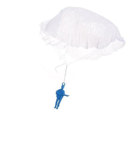 Soldado De Plástico Con Paracaídas Juguete Soldaditos