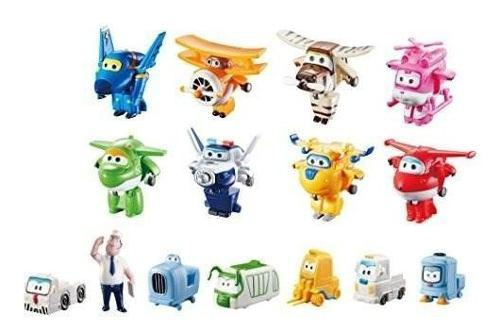 Super Wings - Transform-a-bots World Airport Crew | Pack !