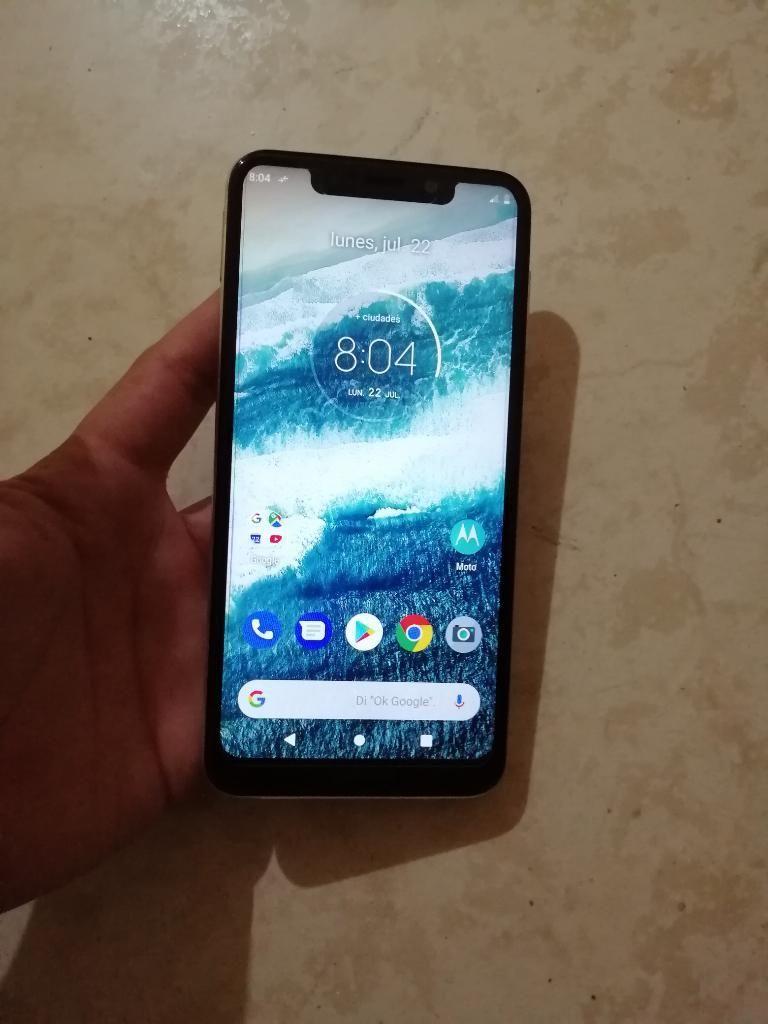 Vendo Cambio Lindo Motorola One 64 Gb 4
