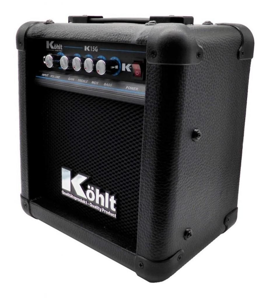 Amplificador De Guitarra Eléctrica Kohlt K15g Con