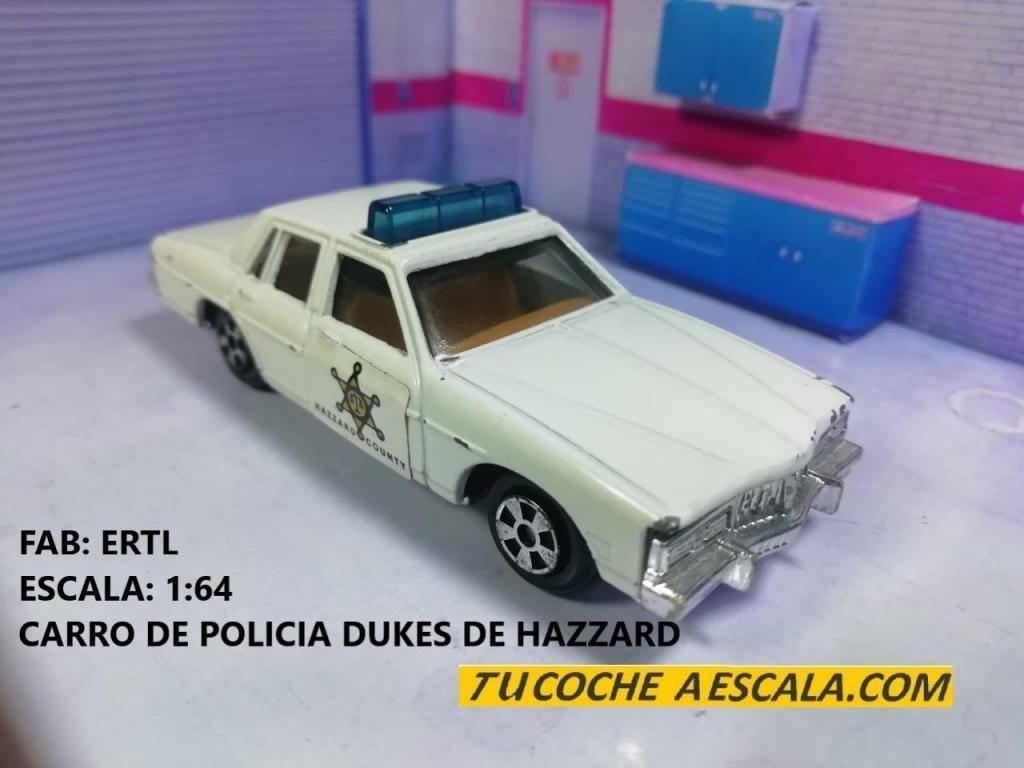 CARRO DE POLICIA DE LOS DUKES DE HAZZARD