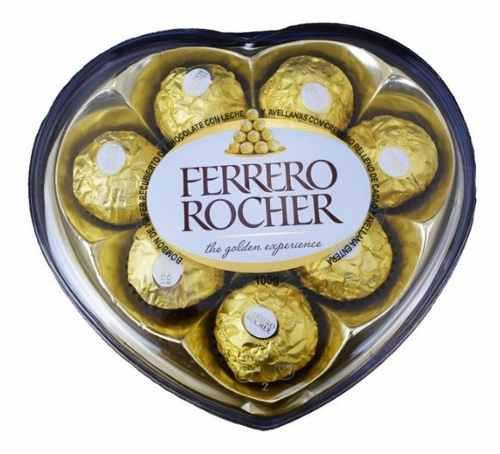 Chocolates Ferrero Rocher Corazón Acr� - kg a $227