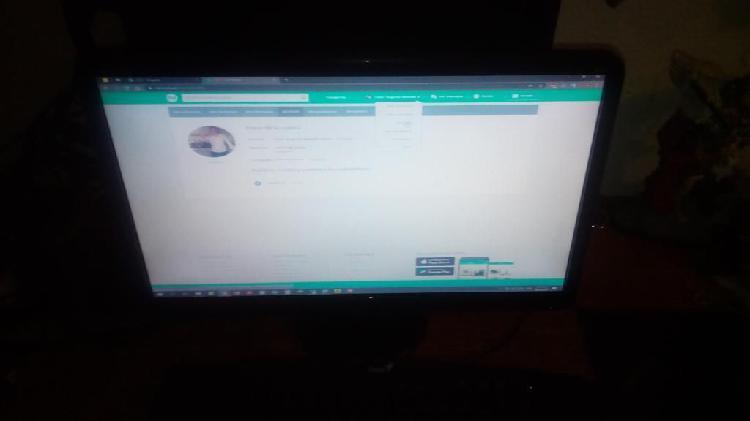 Monitor Compaq 19.5 Pulg en Buen Estado