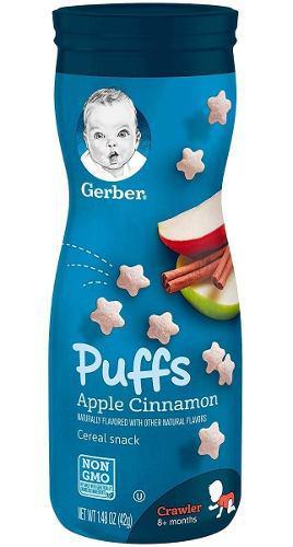 Puff Gerber Graduates - Galletas - Snacks Para Bebés