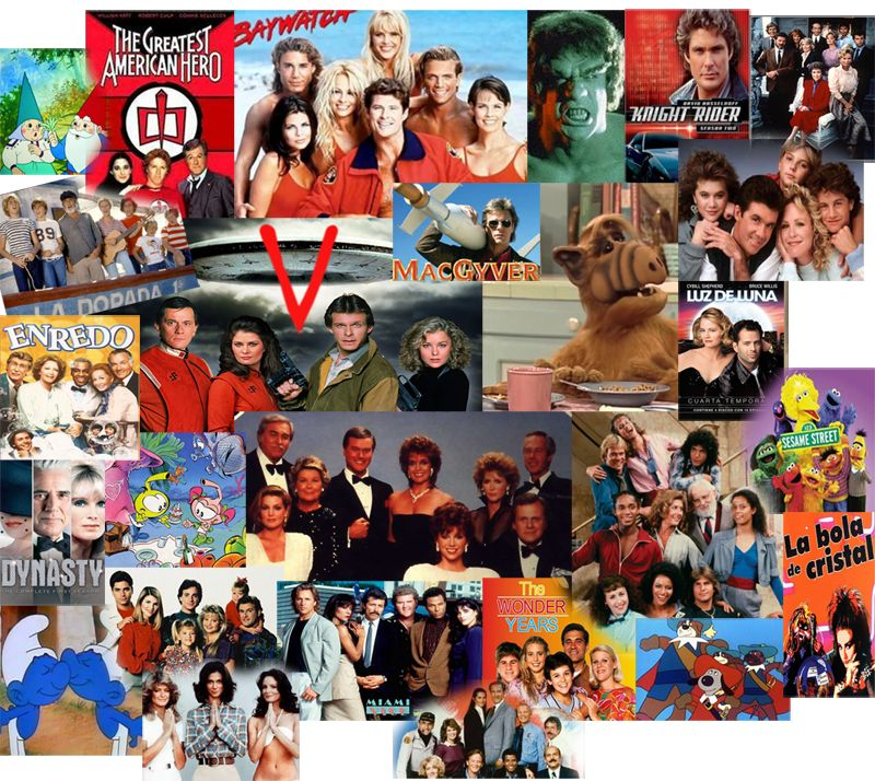 SERIES DE TV DE LOS 80S AUDIO LATINO