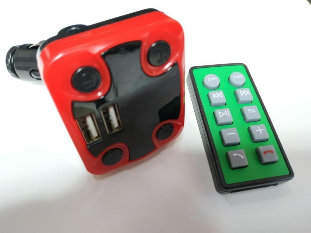 3 en 1 Bluetooth cargador control mp3 - fm para automóvil