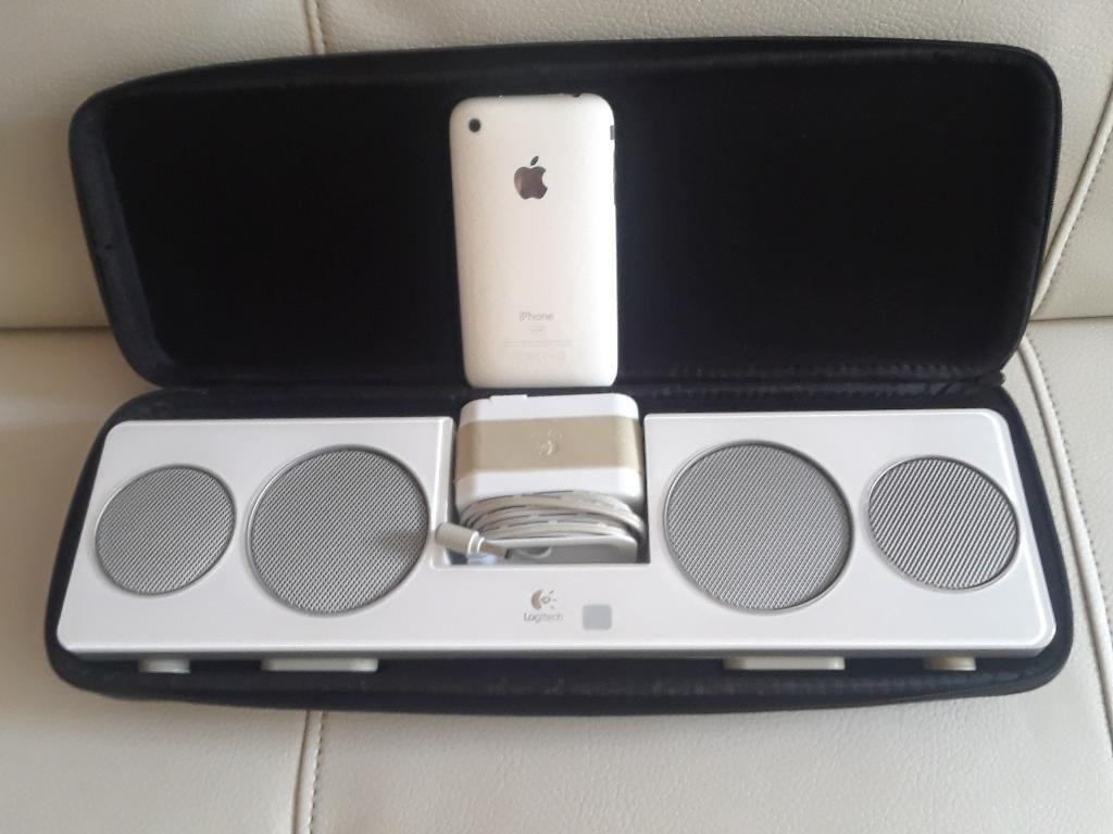 Parlante Logitech, Encimo iPod 3g 16gb