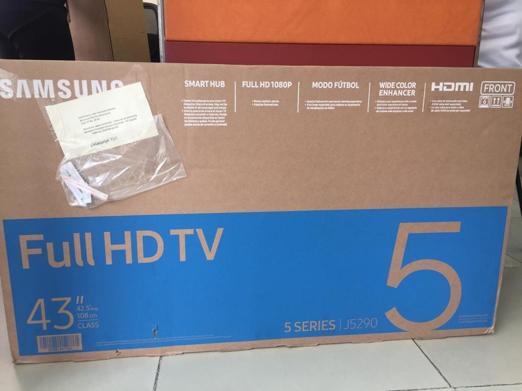 Se vende tv samsung de 43 full HD