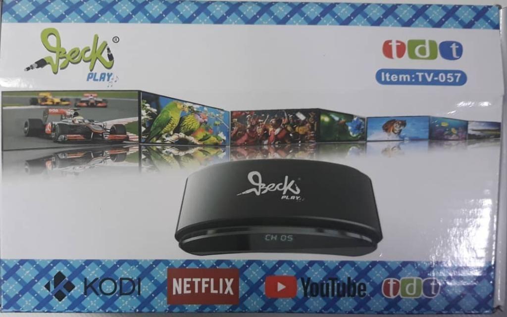 Smart Tv Box Plus Beck Play Tv057