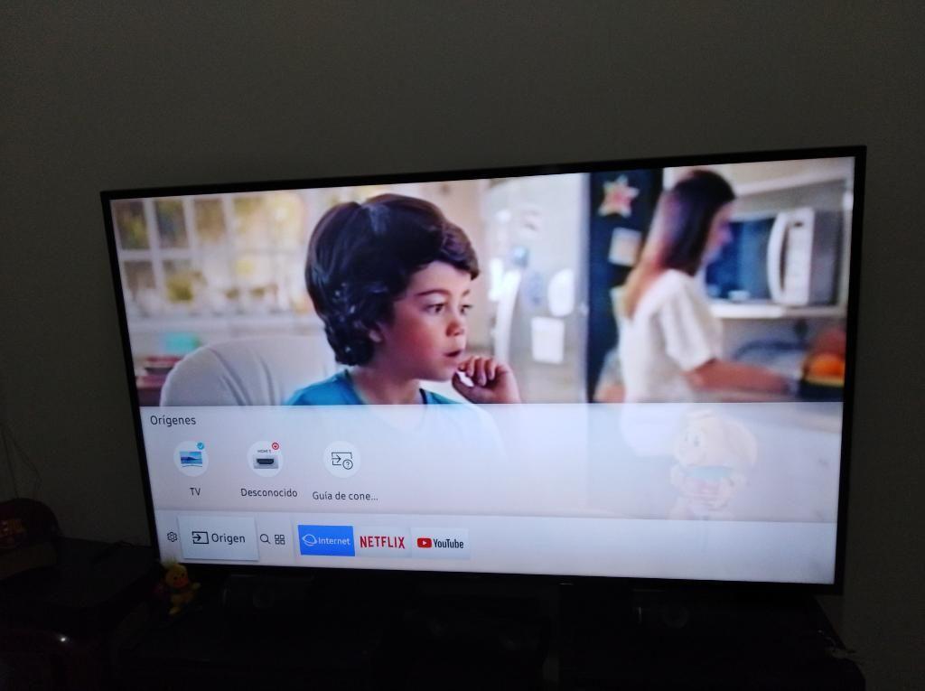 Televisor Samsung de 58 Uhd 4k