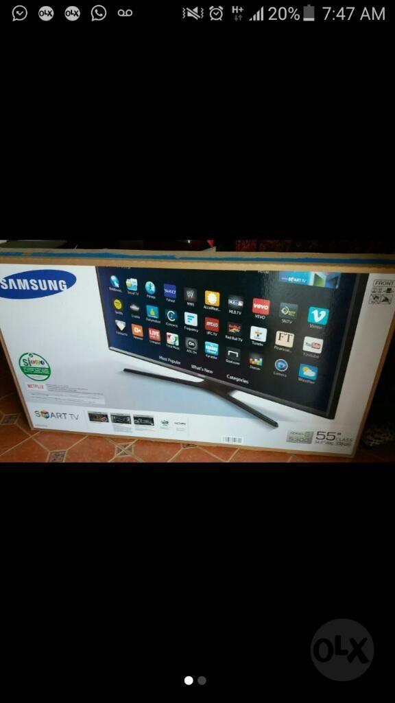 Tv 55 Smartv Samsung con Tdt Full Hd Wif
