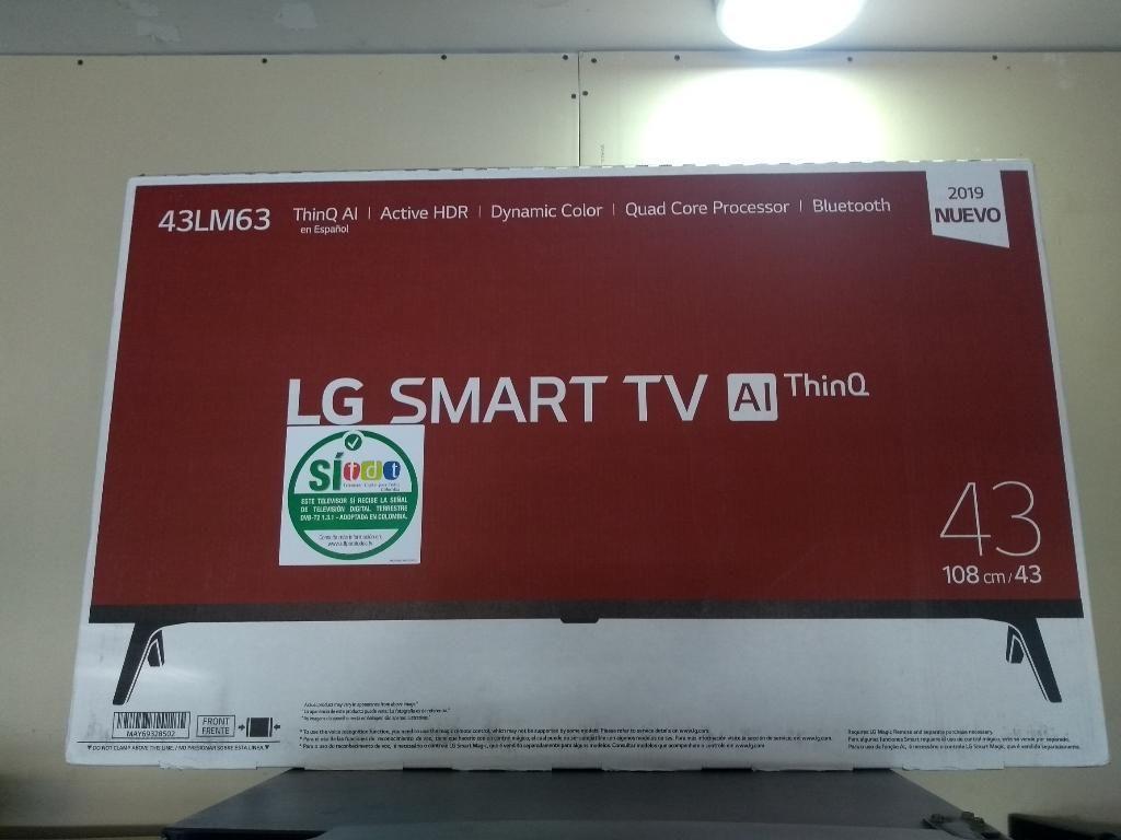 Tv Lg 43 Smart Modelo  Nuevo