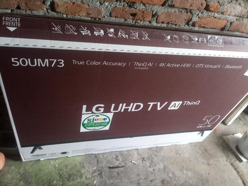 Tv de 50 Pulgadas 4k Smart Tv Nuevo