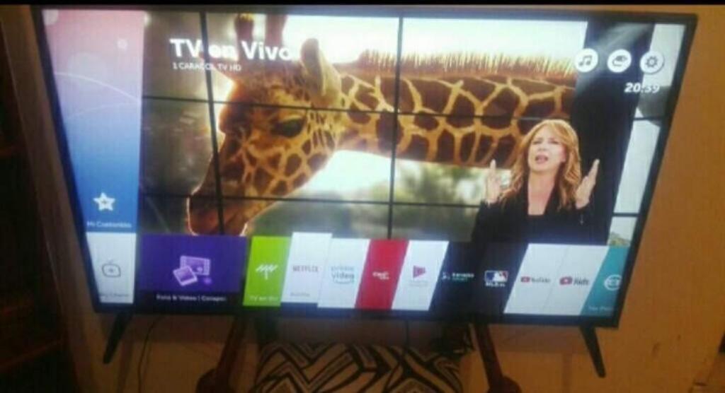 Vendo Tv Lg de 49 Pulgadas 4k