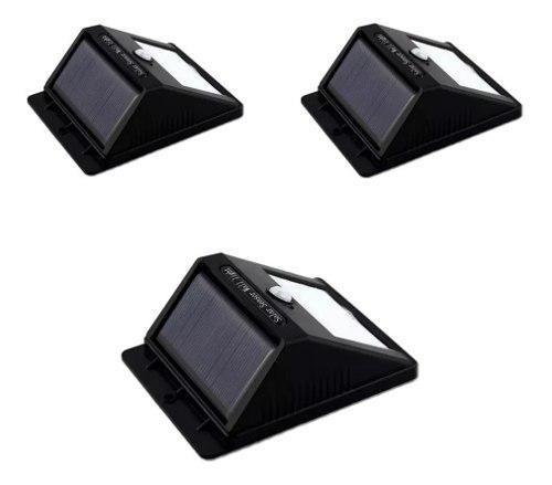 3 Reflectores Con Sensor De Movimiento Solares De 20 Led Tv