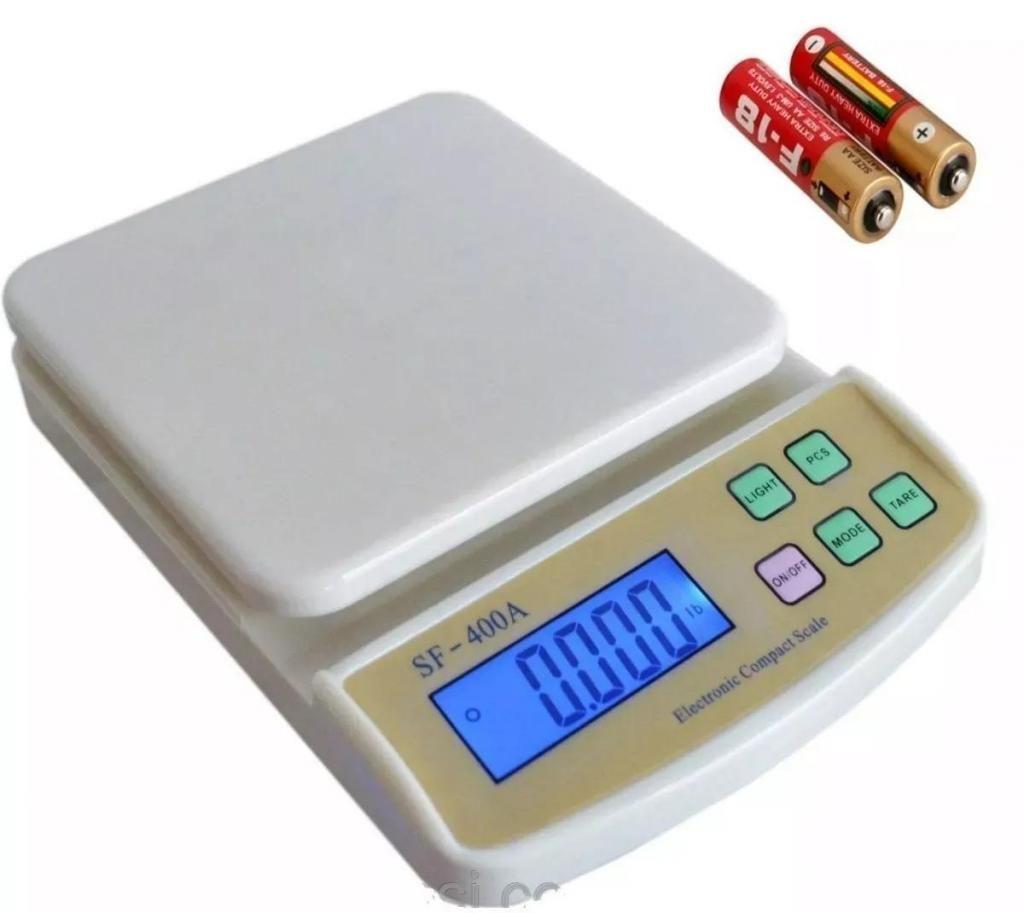 Balanza Gramera Bascula Digital Cocina Capacidad Hasta 10kg