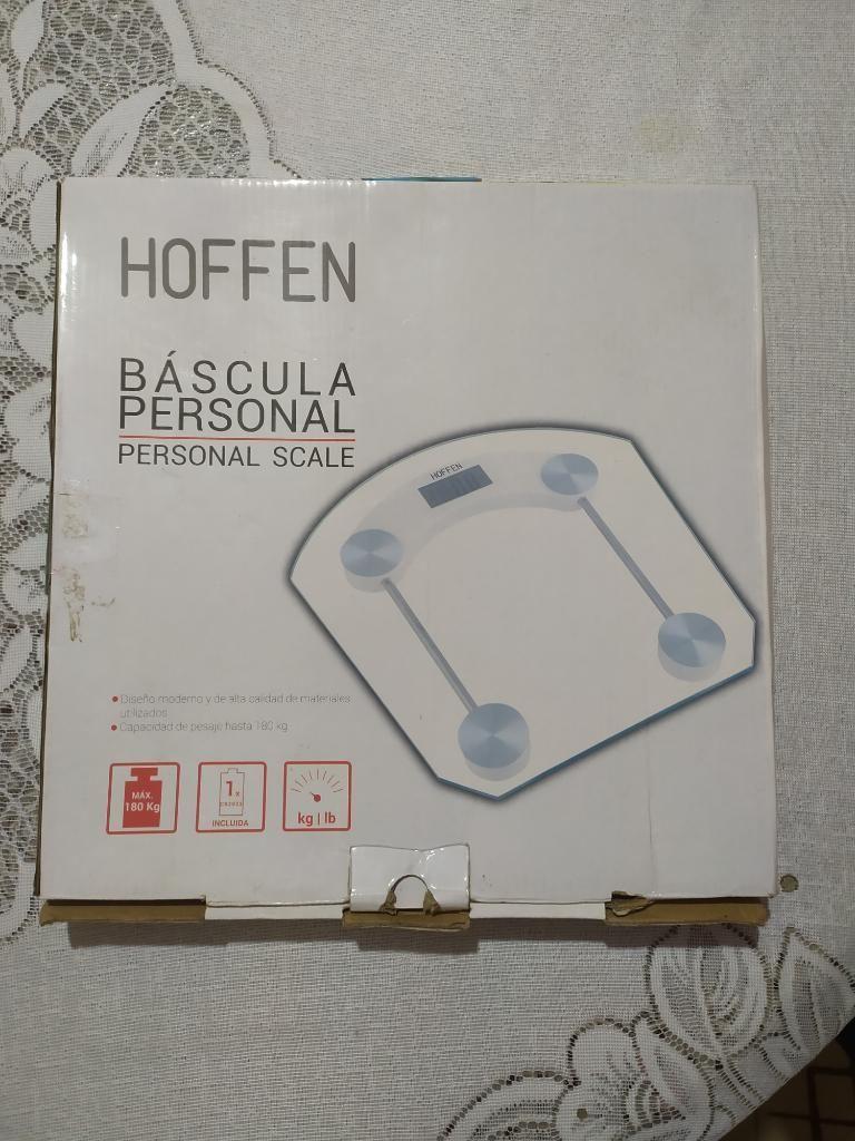 Bascula Personal de Vidrio Moderna