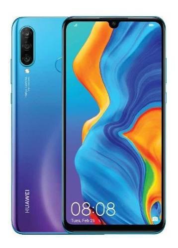 Celular Libre Huawei P30 Lite Azul 128gb /3 Camaras Nuevo