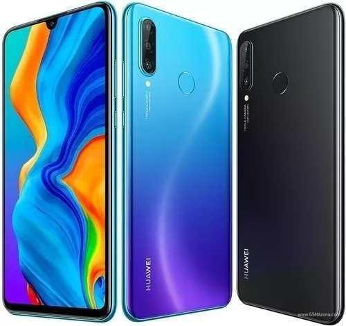 Huawei P30 Lite 128gb+4ram+silicon + Vidrio