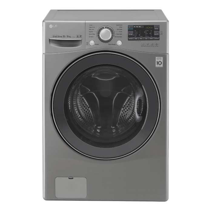 Lavasecadora Lg Carga Frontal 6 Motion 15 / 8 Kg